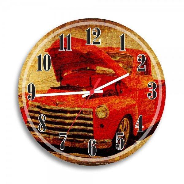 Relógio de Parede Decorativo Carro Antigo
