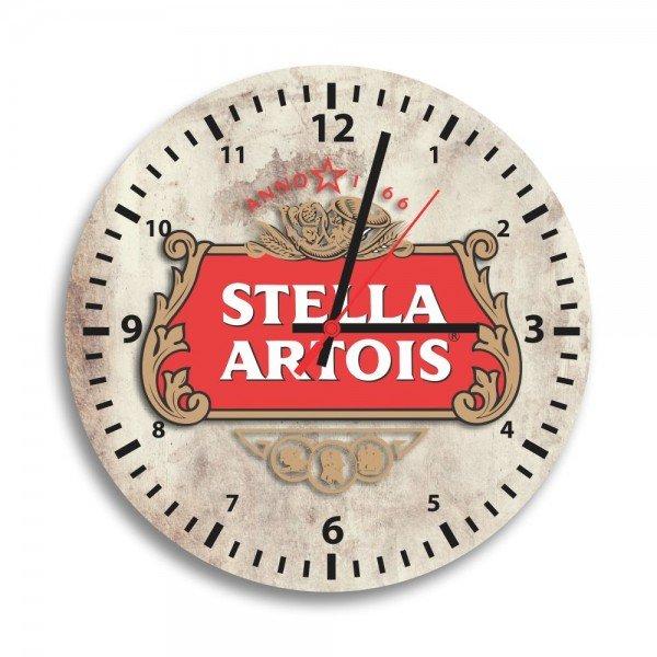 Relógio de Parede Decorativo Stella Artois