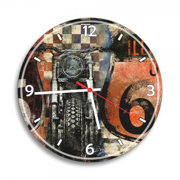 Relógio de Parede Decorativo Moto Retrô