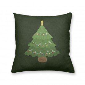 Almofada Decorativa Own Árvore de Natal Verde