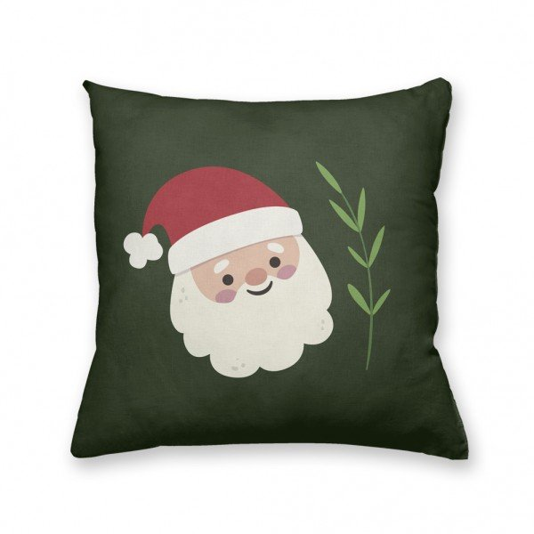 Almofada Decorativa Own Papai Noel Verde