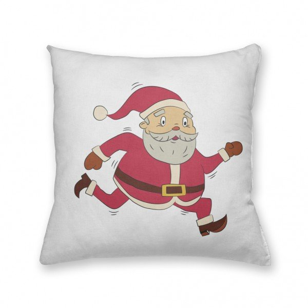 Almofada Decorativa Own Papai Noel Correndo