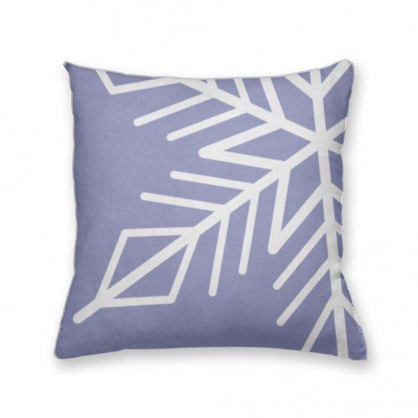 Almofada Decorativa Own Lilás Floco de Neve