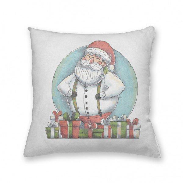 Almofada Decorativa Own Papai Noel e os Presentes