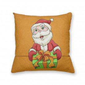 Almofada Decorativa Own Papai Noel Sorrindo