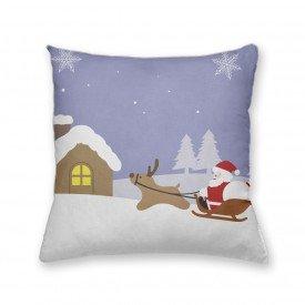 Almofada Decorativa Own Papai Noel no Trenó