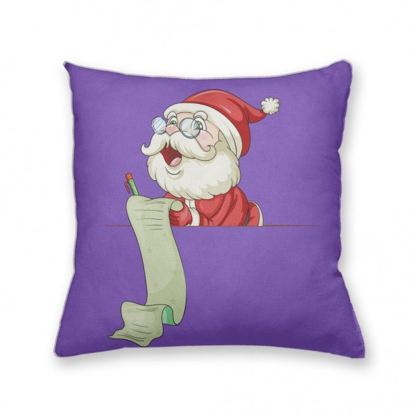 Almofada Decorativa Own Papai Noel Lendo a Carta