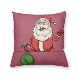Almofada Decorativa Own Papai Noel Acenando