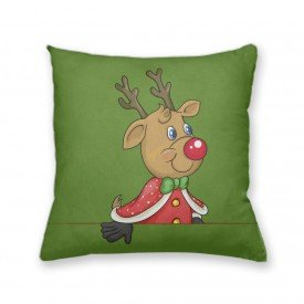Almofada Decorativa Own Rena Ajudante do Papai Noel