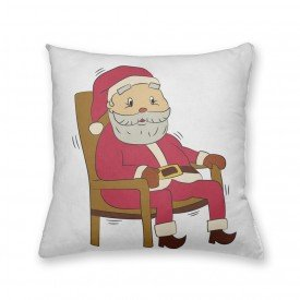 Almofada Decorativa Own Papai Noel Sentado