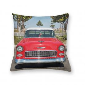 Almofada Decorativa Own Carro Antigo Vermelho
