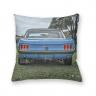 Almofada Decorativa Own Carro Antigo Mustang Azul