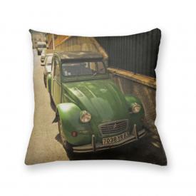 Almofada Decorativa Own Carro Antigo Verde Citroen