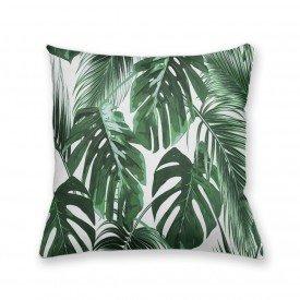 Almofada Decorativa Own Costela de Adão e Folha de Palmeira