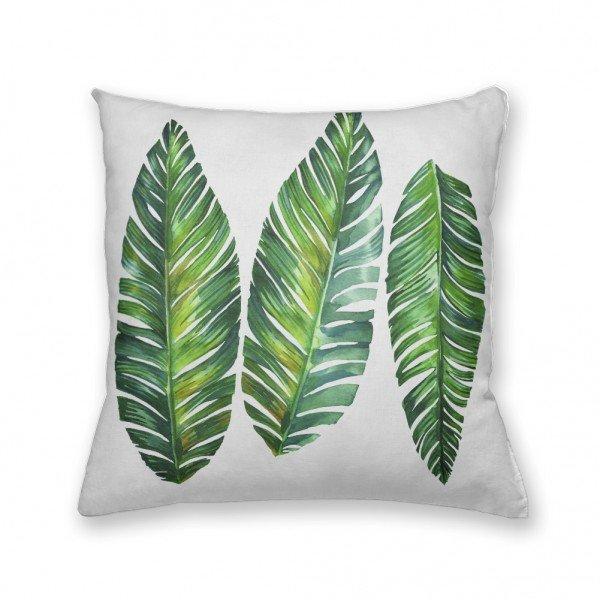 Almofada Decorativa Own Folhas Verdes