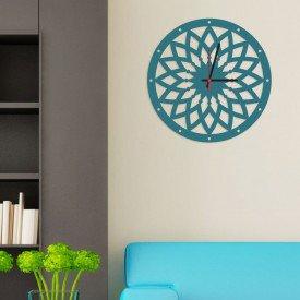 Relógio de Parede Decorativo Premium Mandala Vazado Ágata