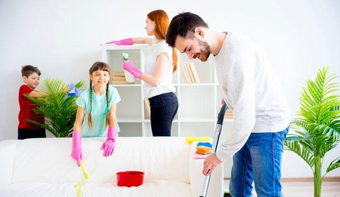 limpieza casa oosouji prego e martelo