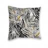 Almofada Decorativa Tropical Amarelo e Preto