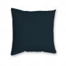 Almofada Decorativa Lisa Azul Escuro