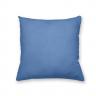 Almofada Decorativa Chevron Azul Lisa