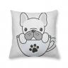 Almofada Decorativa Own Pet Cachorro na Xícara