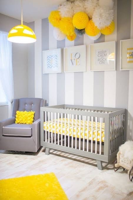 amarelo prego e martelo quarto bebe