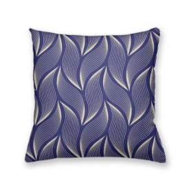 Almofada Decorativa Own Folhas Azul