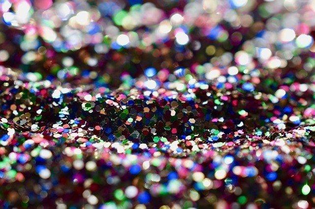 carnaval glitter prego e martelo
