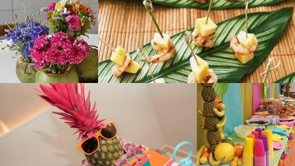 carnaval frutas decoracao carnaval festa