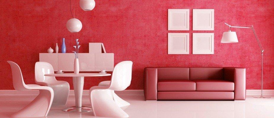 A hora da verdade: vermelho na decoração de casa!