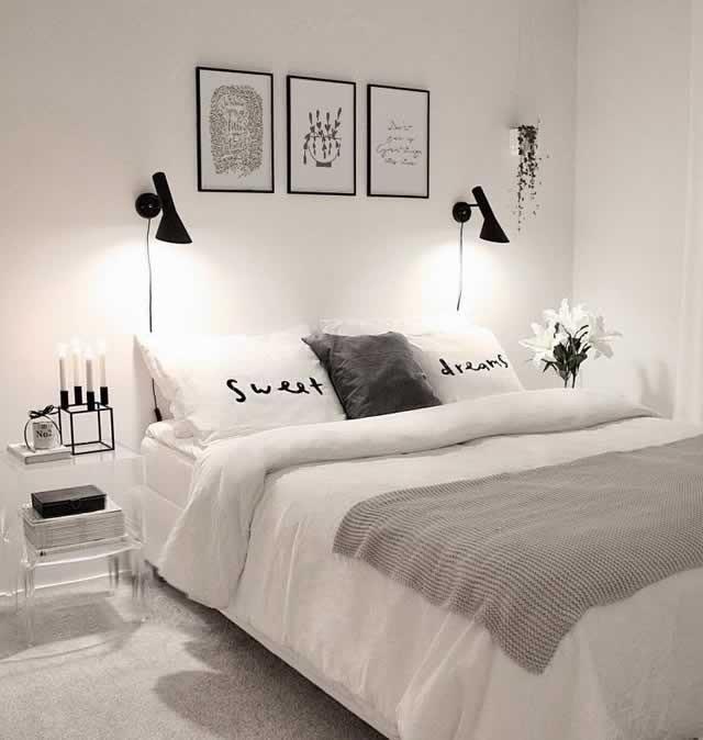 inspiracao decoracao quarto de casal iluminacao