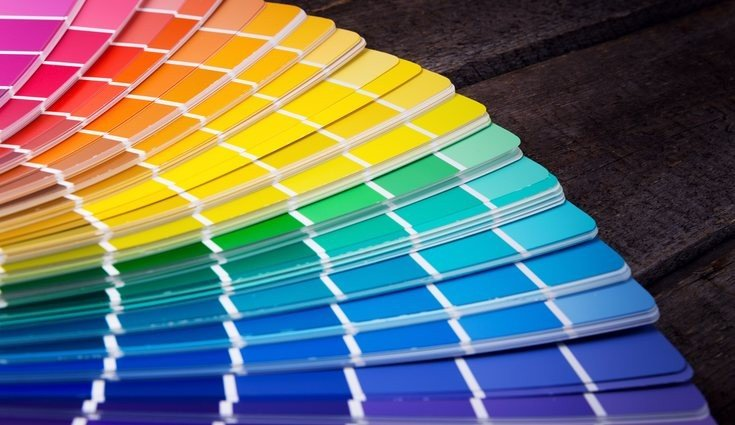 paleta de cores estampas prego e martelo