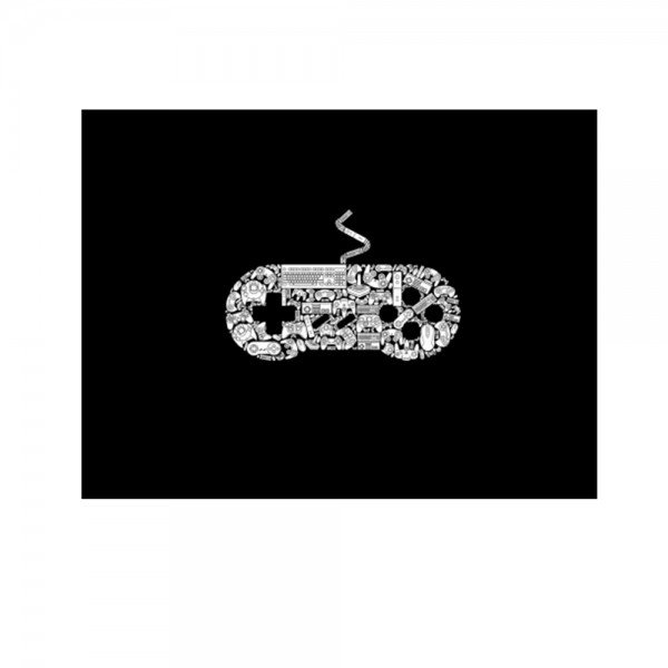 placa decorativa gamer sem fundo