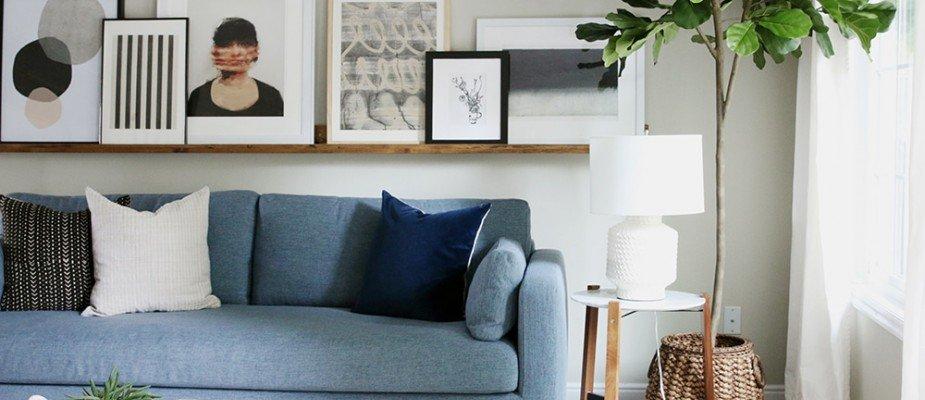 Como escolher o seu primeiro sofá.