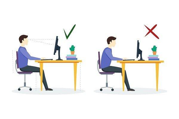 trabalho home office ergonomia prego e martelo