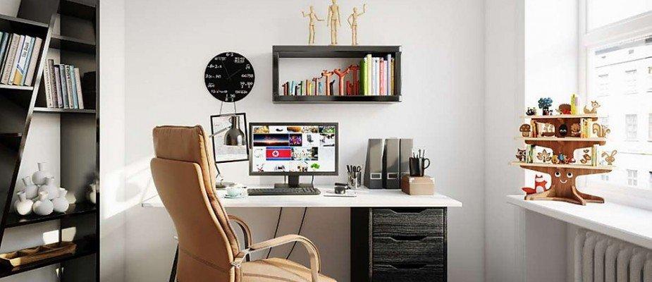 Como ordenar e decorar um escritório em casa durante a quarentena.