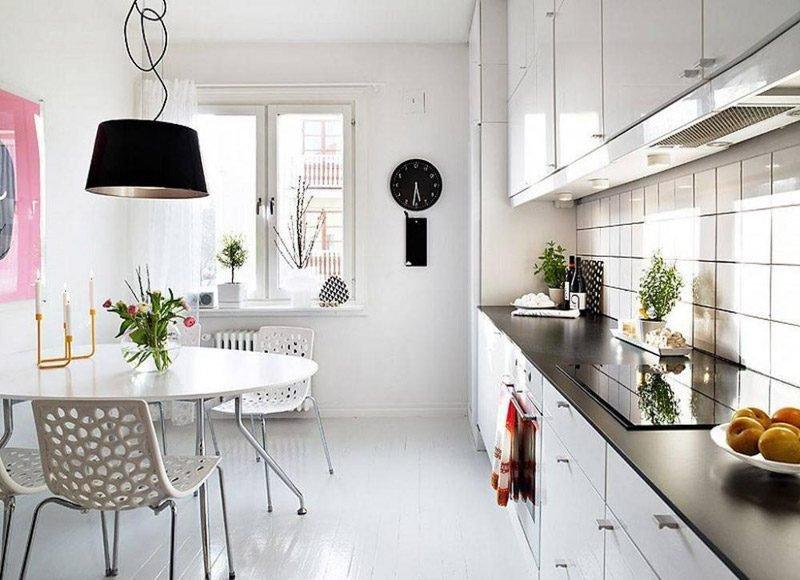 cozinha escandinava clara prego e martelo