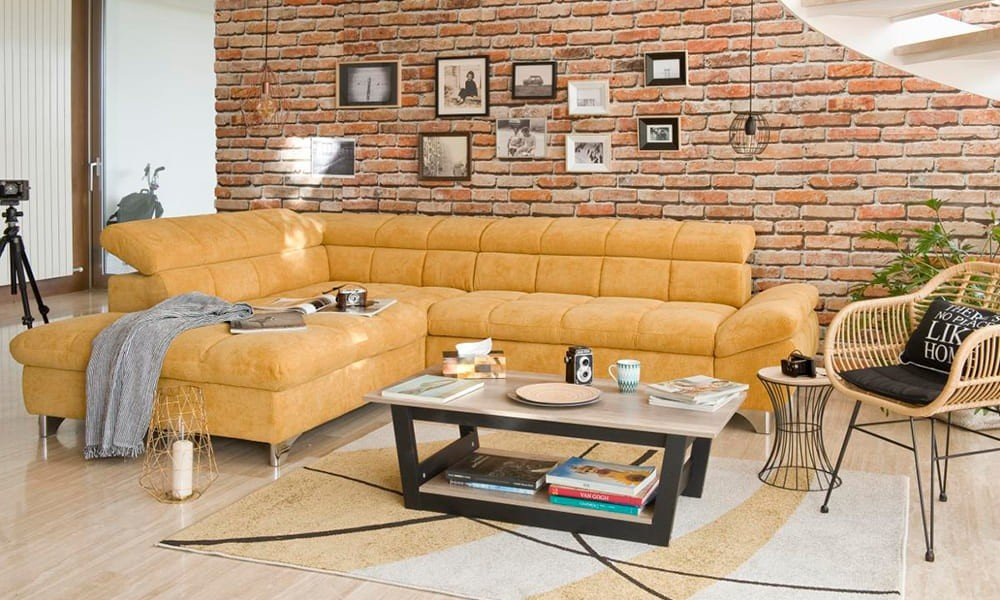 sofa grande prego e martelo