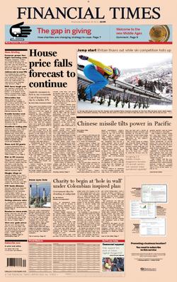 Financial Times 29 December 2010