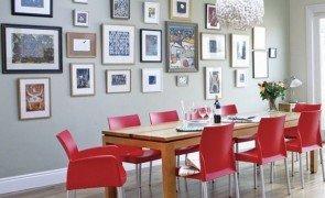 vintage sala de jantar prego e martelo