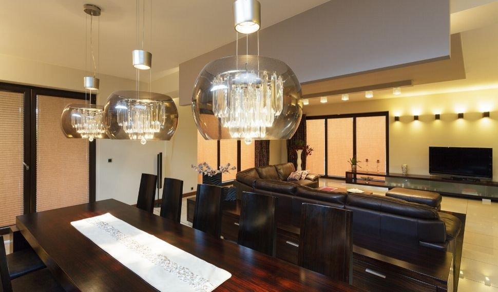 iluminacao sala de jantar prego e martelo