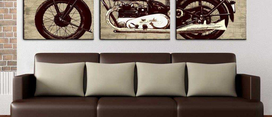 Born to be wild: decoração para os apaixonados por motos.