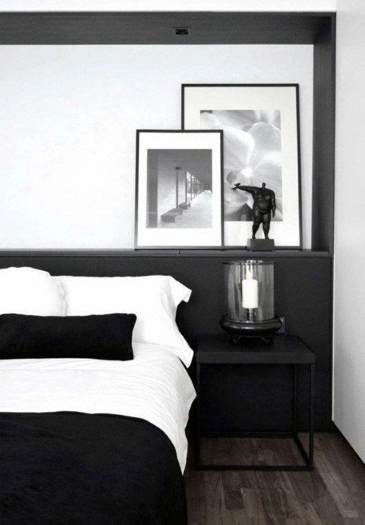 quarto preto e branco prego e MARTELO
