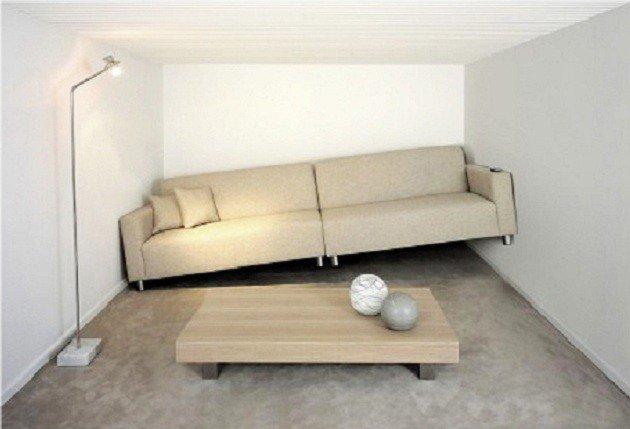 sofa prego e martelo