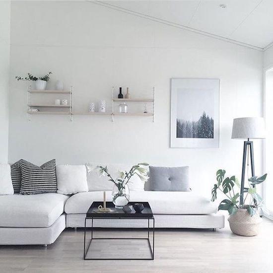 decor estilo minimalista prego e martelo