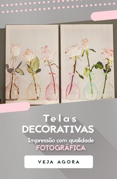 Telas Decorativas Impressão com Qualidade Fotográfica