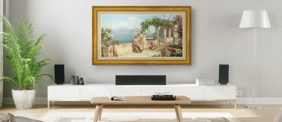 6 métodos para escolher quadros decorativos para sua sala de estar.