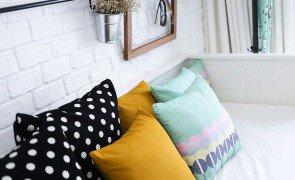higienizar almofadas prego e martelo capa