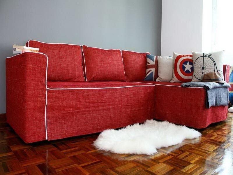 capas de sofa prego e martelo