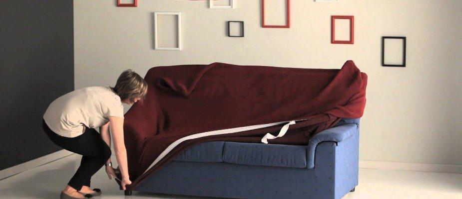 Capa de sofá, sem mistérios.